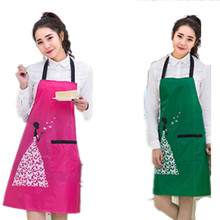 5 NEW SPUN POLY CRAFT COMMERCIAL RESTAURANT KITCHEN BIB APRONS PRINTING aPRONS(China)