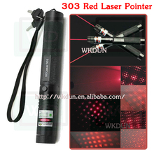 Free shipping Adjustable Focal Length Laser pen SDlaser 303 650nm 200mW red laser pointer for 1x18650 battery(China)