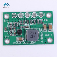 3pcs Step Down Power Module 5-16V To 1.25V/1.5V/1.8V/2.5V/3.3V/5V Universal Adjustable Buck Voltage Converter Board 3A For LCD
