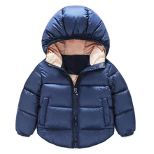 New Baby Boy Coat&Outwear Children Winter Jacket&Coat Boy Jacket Baby Girls Coat Warm Hooded Children Clothing Kids clothes