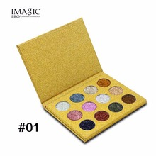12 Colors/Set Eye Shadow Palette Natural Glitters Shining Powder Eyeshadow Make Up Cosmetic Palette Eye Makeup Tool Kits hot(China)