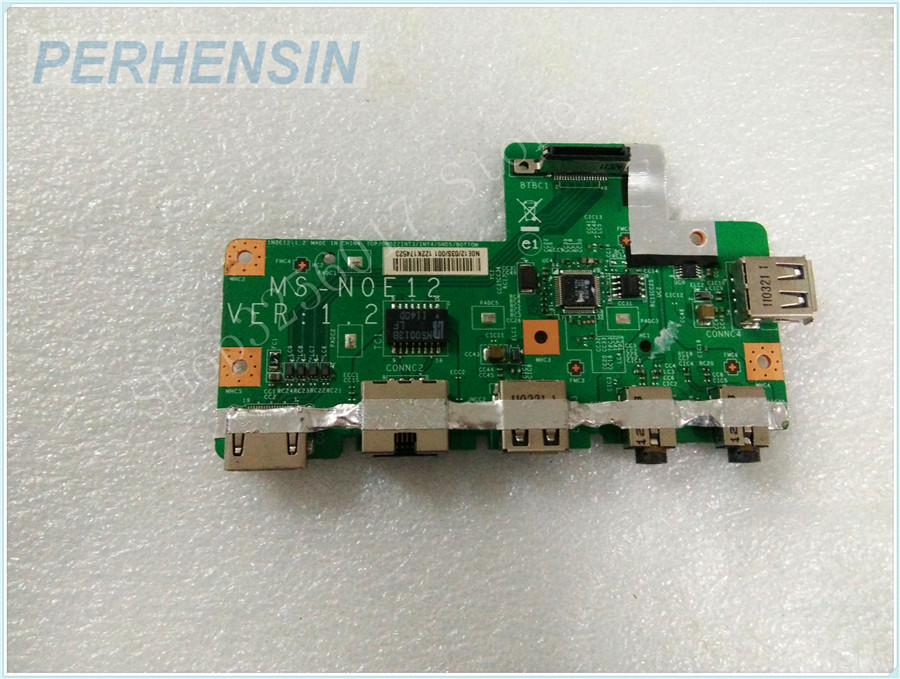 Original Genuine laptop FOR MSI FOR MS-N0E1 MS-N0E12 USB AUDIO WLAN BOARD<br>