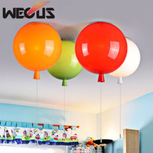 Colorful balloon ceiling lamp, children room cute ball lampshade light, living room pub hotel decoration lighting D250mm(China)