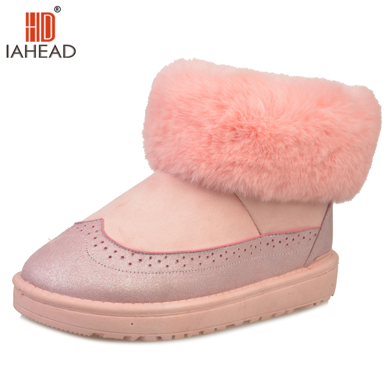 Women Shoes For Winter Ankle Boots Snow Boot With Wool Fashion Warm Shoes Slip On Anti Cold Shoes UPC406<br>