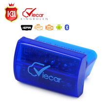 Wholesale MINI ELM327 Interface Viecar 2.0 OBD2 Bluetooth Auto Diagnostic Scanner Support Android/Windows