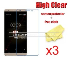 3pcs/Lot Front Film For CUBOT X15 X9 S550 X17 S X17S Note S S600 X10 Clear Transparent Screen Protector Guard