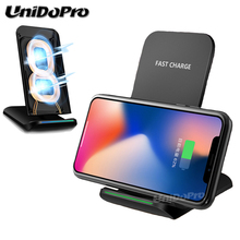 Unidopro Wireless Charger Pad for Sony Xperia Z3 (US Verizon) / Z3V Qi Wireless Charging Phone Stand for All QI Enabled Devices(China)