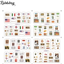 Different Countries Flag And Currency European Style Series Nail Sticker Decorate Fingernails Nail Design Sticker