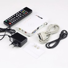 Newest Digital TV Box Portable HDTV HD LCD/CRT VGA/AV Stick Tuner Set-top Box View TV Program Receiver Converter High Quality