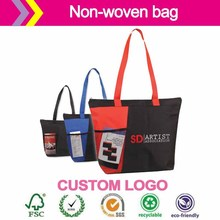 Hottest sale nature recycled pp non woven bag Best Sale Lamination Bag/Fashion Design Laminated Non Woven Bag