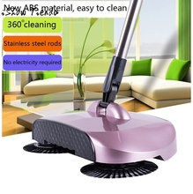 New Arrival 360 Rotary Home Use Magic Manual Floor Dust Sweeper(China)