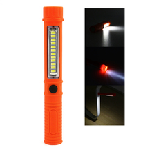 Portable Mini LED Magnet COB Inspection work Light Lamp Multifunction COB LED Mini Pen 2 Mode work flashlight