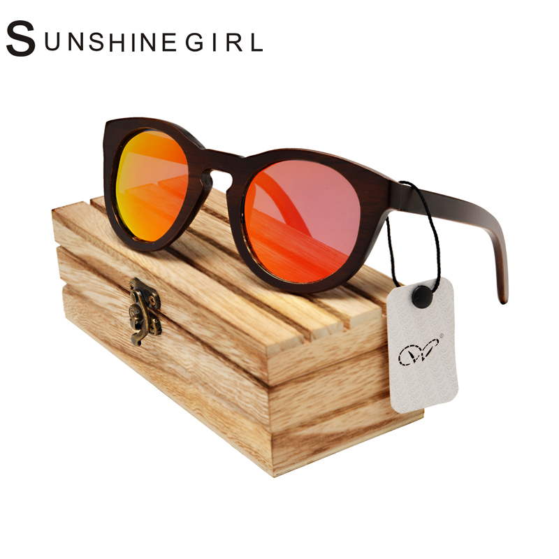 2017 Custom Wooden Sunglasses Flat Top Men Sunglasses Bamboo Original Custom Wooden Sunglasses Polarized Du wood sunglasses case<br><br>Aliexpress