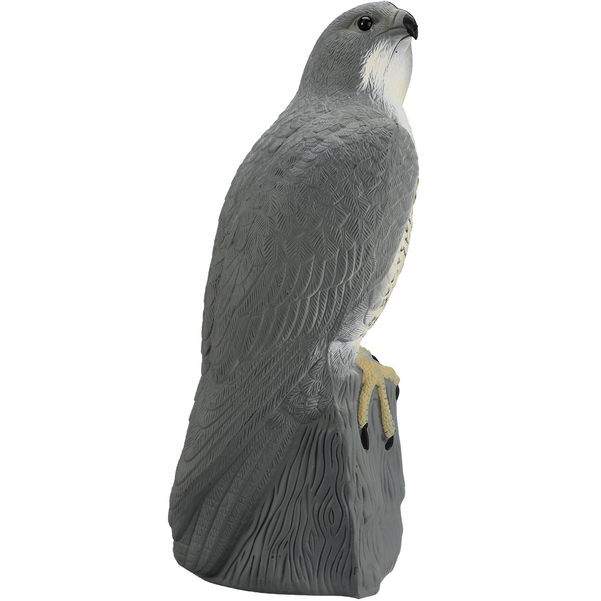 Fake Falcon Hawk Decoy Bird Pigeon Deterrent Scarer Repeller Garden Lawn Decor H