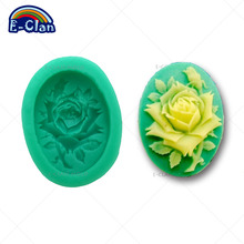HOT SALE Food-Grade silicone molds for cake decorating mini flower fondant mold party handmade rose decoration tools F0010HM35