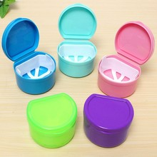 Hot Dental Box Denture Teeth Storage Case Mouth guard Container Tray Fit For Collection Storage Boxes