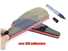 2X  Car Scratch Repair Pen 2 Set Rear View Side Mirror Rain Board Sun Visor Shade Shield Together Auto Maintenance Toolkit