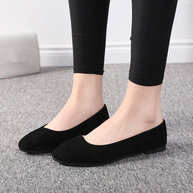 Plus Size 35-43 Women Shoes Candy Color Spring Shoes Woman Slip On Casual Flats Ladies Shoes Autumn Loafers zapatos de mujer