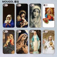 Buy MOUGOL Retro Vintage Art Statue Virgin Maria design transparent clear hard case cover Apple iPhone 7 7Plus 6S 6 Plus 5 5s SE for $1.88 in AliExpress store