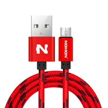 NOHON Micro USB Cable Fast Charging Nylon Samsung Xiaomi Huawei Nokia Sony LG Mobile Phone USB Charger Cables Data Sync Wire