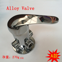 Bathroom alloy shower faucet thermostatic valve body cartridge, Copper thermostatic valve mixer, Solar water heater accessories(China)