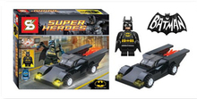Batman DC Comics Marvel Avengers Building Bricks Super Hero  Vehicle Set Block Figure Kids Toys Compatible With Lego