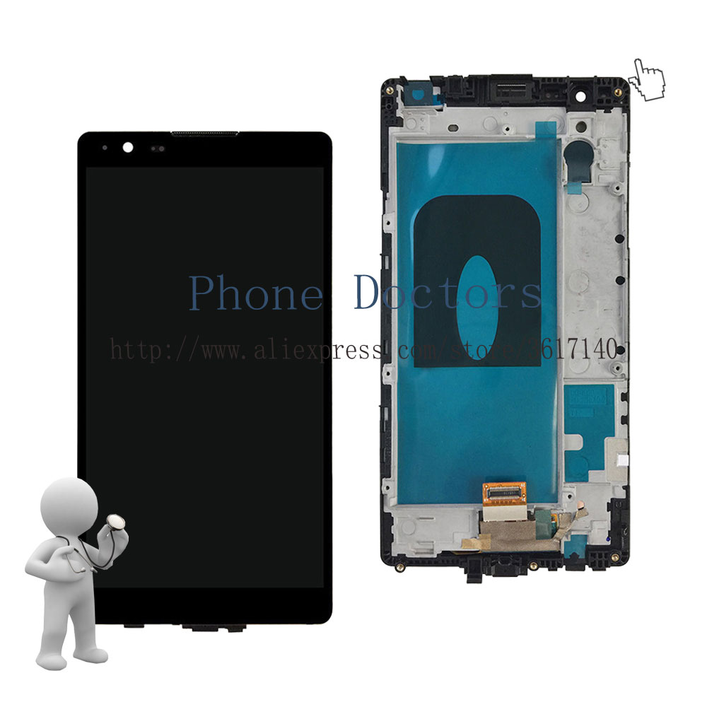5.3'' Full LCD DIsplay + Touch Screen Digitizer Assembly Frame LG X Power LG-F750K F750K K220 K220DS LS755 ; Black ;New