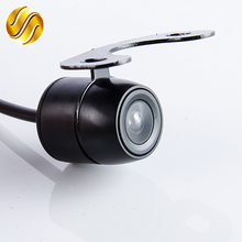 170 Degree Car Rear View Camera Waterproof HD CCD Built-in Distance Scale Lines for Auto Parking Sensor System