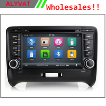 Free Shipping 2016 Top Car Styling Wince Car DVD Radio For Audi TT 2006 2007 2008 2009 2010 2011 With GPS Navigation Free Map