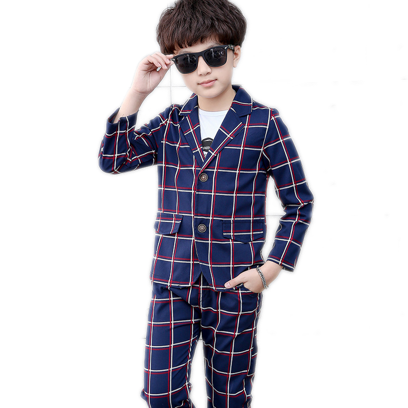 baby boy clothes sets 2018 new kids blazers boy suit for weddings prom formal t shirt+blazer+pants 3pcs dress wedding boy suits <br>