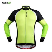 Buy WOSAWE Fleece Thermal Thin Cycling Jackets Windproof Bike Jerseys Bicycle Coats Clothing Long Sleeve Winter Autumn for $25.25 in AliExpress store