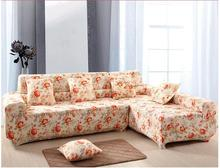 Pastoral polyester printing for four seasons anti-skid  Sofa  slipcover couch cove 1 piece price 10 colours free ship