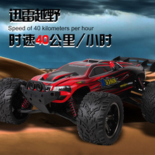 2016 New Arrival High Speed Big RC Car 9116 1/12 2WD Brushed RC Monster Truck RTR 2.4GHz Good Children Toy