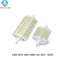 1x Lamparas No Dimmable R7S LED Corn 78mm 118mm Light 5050 SMD Bulb 12W 20W Replace Halogen Lamp Bombillas(China)