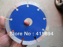 125x10x22.23-15.88mm blue color cold press segment diamond saw blade for bricks, granite,marble and concrete.cutting tools(China)