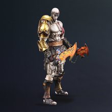 Square Enix God of War III: Play Arts Kai: Kratos Action Figure Free shipping Halloween Christmas