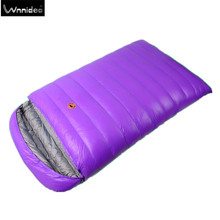 Wnnideo Double Sleeping Bag / Queen sleeping bag / 2 Person Sleeping Bag / Warm / Camping / Family
