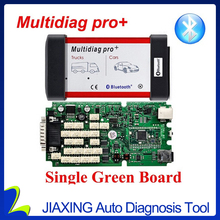 High Quality A Multidiag pro+ TCS cdp pro with Bluetooth 2015R3/R1 with 4GB TF card can choose TCS software work many cars(China)