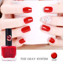BK Brand Red And Grey Series Stamping Nail Polish Long Lasting Quickly Dry Nail Lacquer Sweet 20 Colors Stamp Enamel Paint 14ml
