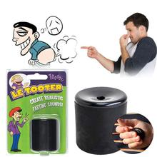 Dropshipping Antistress Le Tooter Create Realistic Farting Sounds Fart Pooter Gag Gift Novelty Funny Gadgets Black Prank Toys(China)