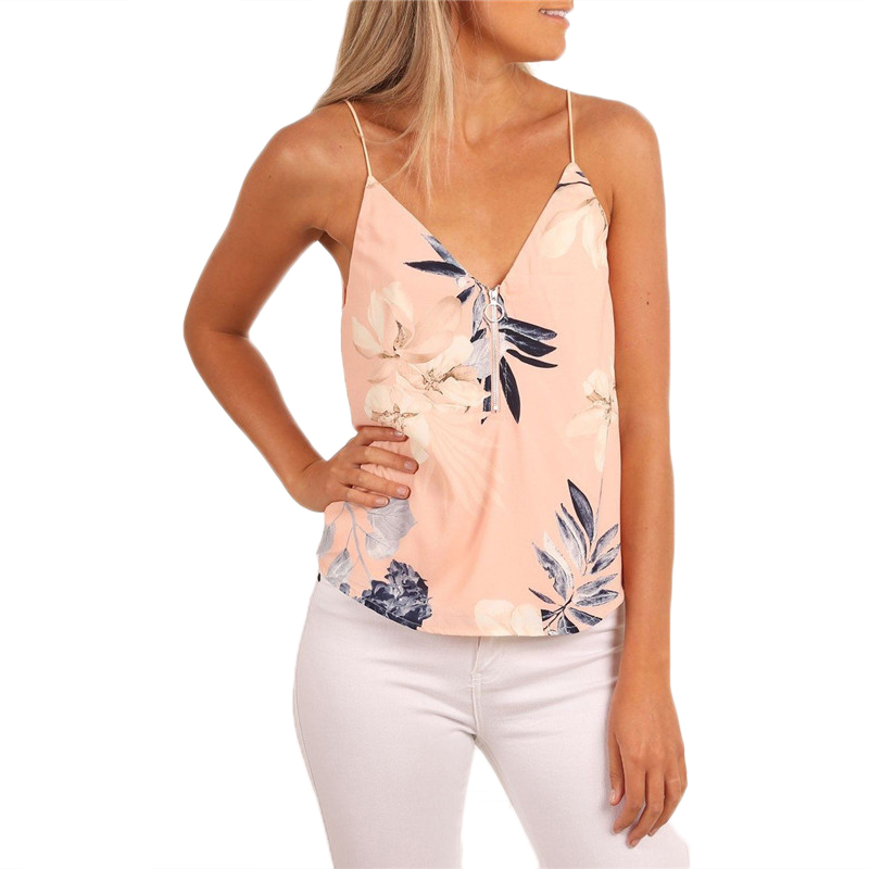 FashionOutfit Women/'s Solid Sleeveless V Neck Adjustable Strap Bodysuit