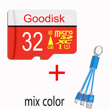 2017 BEST PRICE RED Micro SD Class 10 High Speed Microsd Card 64GB 32GB Memory Card 16GB 8GB Micro sd card with gift usb cable