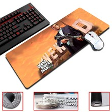 Super Locking Edge large Game Mouse Pad Grand Theft Auto 30x60cm high quality DIY pictures super big size computer game tablet
