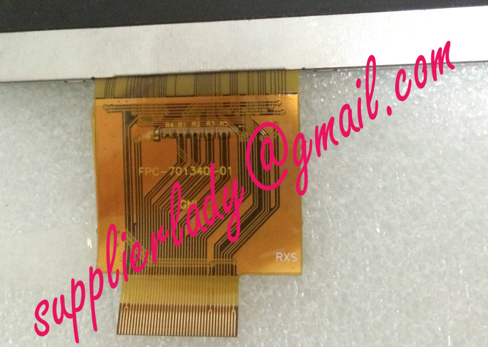 Original and New LCD screen FPC-701340-01 for tablet pc free shipping<br>