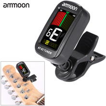 Hot Portable Clip-on Electric Tuner Color LCD Screen Universal for Guitar Bass Violin Chromatic Ukulele