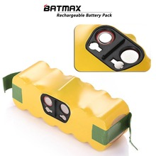 For iRobot Roomba Batmax 14.4V 3500mAh Ni-MH Vacuum Cleaner Rechargeable Battery Pack Replacement for iRobot 500 550 600 780 770(China)
