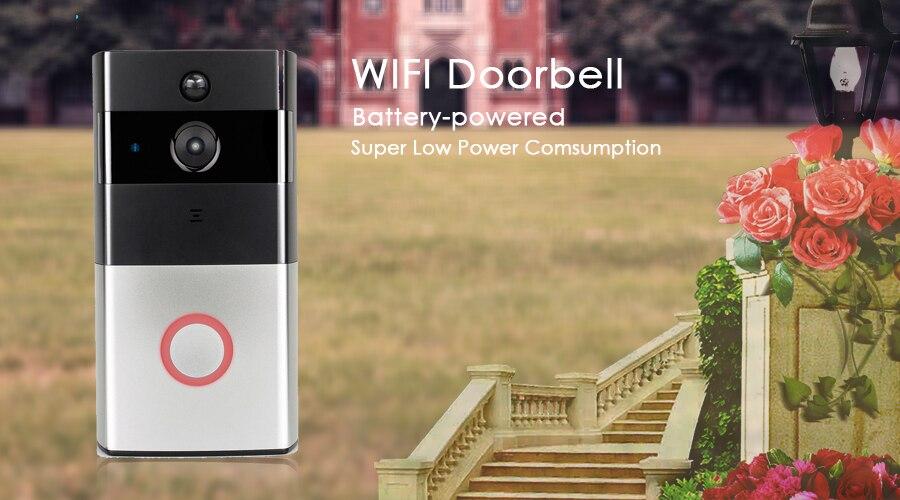 CTVMAN Wireless Video Door Phone Doorbell Camera Battery Doorphone Video Intercom System Wifi Doorbells with PIR & SD Card19