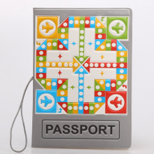 Fashion Flying chess ideas pattern waterproof cover passport holder documents card sets - essential travel abroad(China)