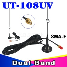 Car Magnetic Mobile Antenna Two Way Radio VHF UHF SMA  UT-108UV for Nagoya BAOFENG CB Radio  UV-5R UV-B5 UV-B6 GT-3