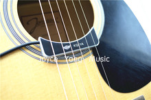 KQ-1A Acoustic Classical Guitar Pickup Soundhole Pickup Ceramic Pickup Gold/Silver/Black Free Shipping Wholesales(China)